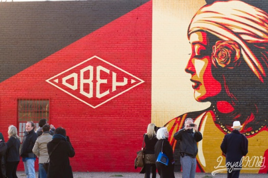 Obey-Mural
