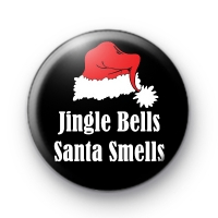 jingle-bells-santa-smells-badge-200x200